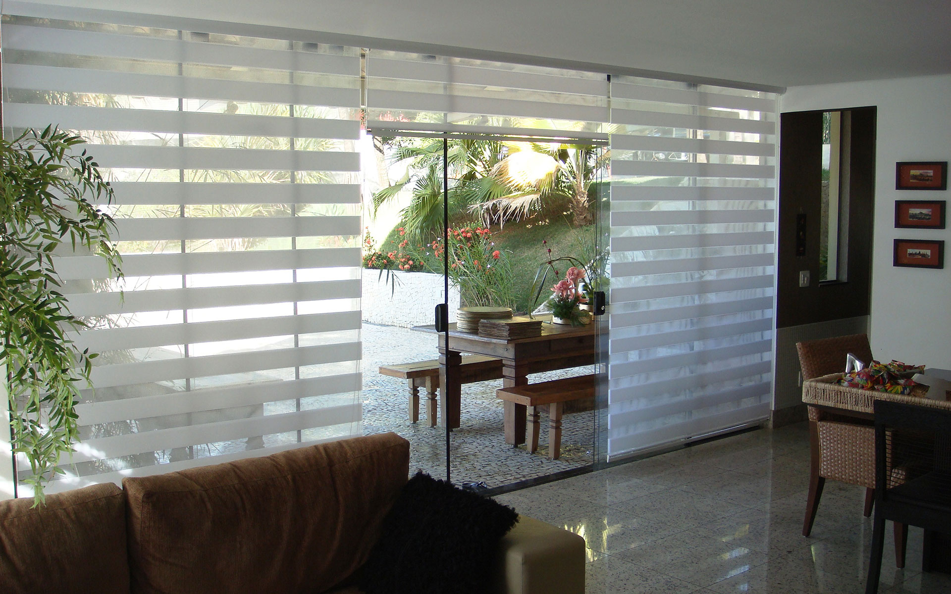 Double Vision Blindlux F 225 Brica De Persianas Cortinas